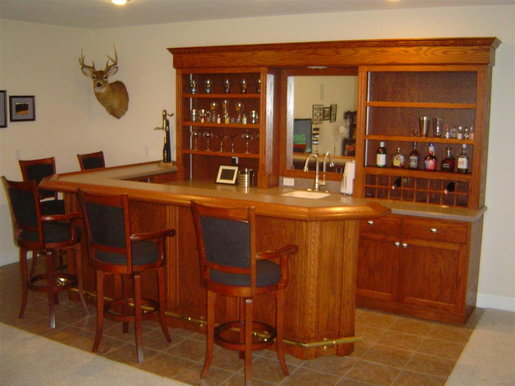 Bar Project Photos Brian Bequette Cabinetry Inc